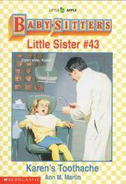 Karens Toothache (Baby-Sitters Little Sister, No. 43)