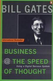 image of Business at the Speed of Thought: Succeeding in the Digital Economy (Penguin Business Library)