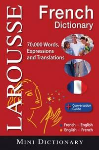 Larousse Mini French-English English-French Dictionary