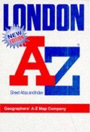 """A. to Z. Atlas of London: 1m-3"""" (London Street Atlases)"""