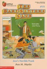 Jessi's Horrible Prank (Baby-Sitters Club #75) by  Ann M Martin - from Better World Books  and Biblio.com