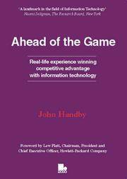 Ahead of the Game by  John Handby - Paperback - First Edition - 1996 - from Compass Books and Biblio.co.uk