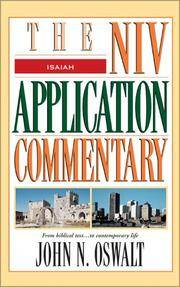 Isaiah: The NIV Application Commentary