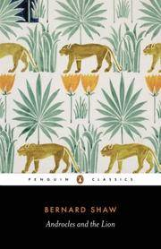 Androcles and the Lion. Penguin Fiction No. 0566