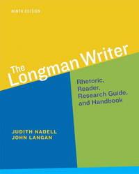 The Longman Writer (9th Edition) - Standalone book
