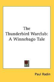 The Thunderbird Warclub