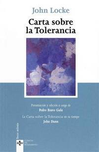 image of Carta sobre la tolerancia (Clásicos del pensamiento / Classics of thought) (Spanish Edition)