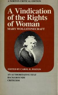 Vindication of the Rights of Women by  Mary Wollstonecraft - Paperback - 1976 - from KALAMOS BOOKS (SKU: 23052)