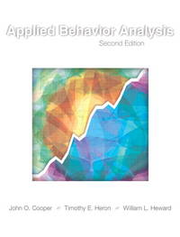 Applied Behavior Analysis (2nd Edition) by Cooper, John O.; Heron, Timothy E.; Heward, William L - 2007
