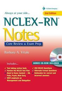 NCLEX-RN Notes: Content Review & Exam Prep (Davis's Notes)