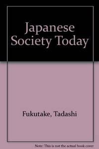 JAPANESE SOCIETY TODAY