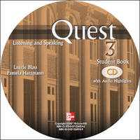 Quest Listening and Speaking, 2nd Edition - Level 3 (Low Advanced to Advanced) - Audio CDs (8)