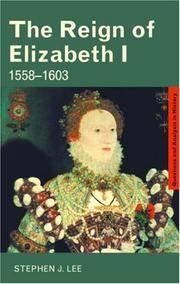 The Reign of Elizabeth I 1558–1603