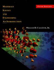 image of Materials Science and Engineering: An Introduction (5th Edition)