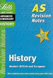 History: AS Level Revision Notes (Letts AS revision notes)