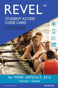 Revel for THINK Critically -- Access Card