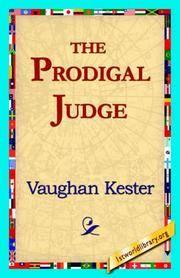 image of The Prodigal Judge