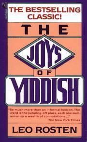 image of Joys of Yiddish