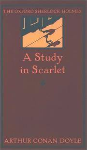image of A Study in Scarlet (The Oxford Sherlock Holmes)
