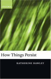 How Things Persist