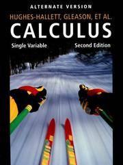 Calculus : Single by Thomas W. Variable - Paperback - from ShopBookShip and Biblio.com