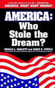 image of America: Who Stole the Dream?