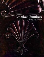 AMERICAN FURNITURE 1999.