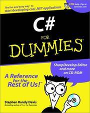 image of C# For Dummies