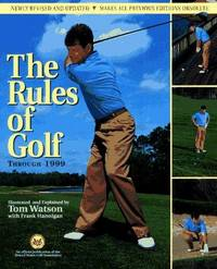 image of The RULES OF GOLF - THROUGH 1999