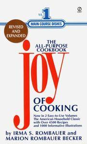 image of The Joy of Cooking: Volume 1: Main Course Dishes