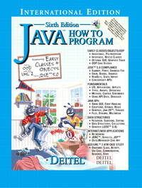 image of Java How to Program