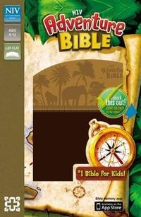 NIV, Adventure Bible, Imitation Leather, Brown