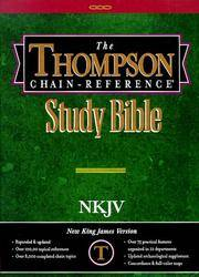 image of Thompson Chain Reference Bible (Style 313) - Regular Size NKJV - Hardcover