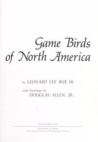 Game Birds of North America