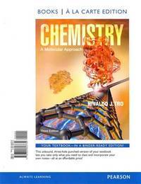 image of Chemistry: A Molecular Approach (3rd Edition)