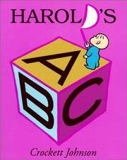 image of Harold's ABC (Turtleback School_Library Binding Edition) (Purple Crayon Book)