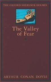 THE VALLEY OF FEAR (THE OXFORD SHERLOCK HOLMES)