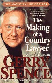image of The Making of a Country Lawyer: An Autobiography