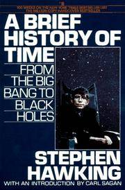 A Brief History of Time: From the Big Bang to Black Holes by  Stephen Hawking - from Wonder Book (SKU: G13B-00497)