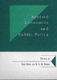 Applied Economics and Public Policy (Department of Applied Economics Occasional Papers)