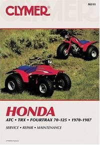 Honda ATC70-110 Singles 1970-1980 Service Repair Performance