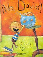 No, David! (Spanish language version) by David Shannon - Paperback - 2009-05-03 - from Books Express and Biblio.com