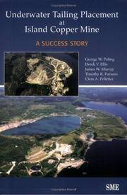 Underwater Tailing Placement at Island Copper Mine: A Success Story