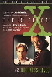 X Files #02 Darkness Falls (X Files Middle Grade)  by Martin, Les
