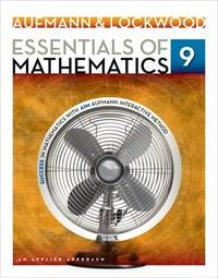 (WARNING! ! PLEASE READ DESCRIPTION BELOW BEFORE BUYING) of Mathematics: An Applied Approach