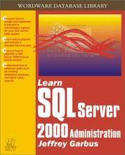 Learn SQL Server 2000 Administration