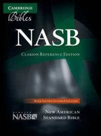 NASB Clarion Reference Edition (Black Goatskin)