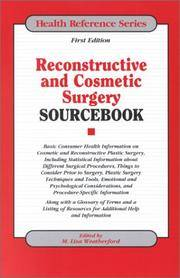 RECONSTRUCTIVE AND COSMETIC SURGERY SOURCEBOOK
