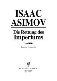 image of Rettung des Imperiums, Die