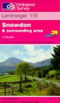 image of Snowdon and Surrounding Area (Landranger Maps)